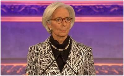 """Christine Lagarde: Der Umweltschaden ist eine """"kritische Mission"""" für den IMF."""